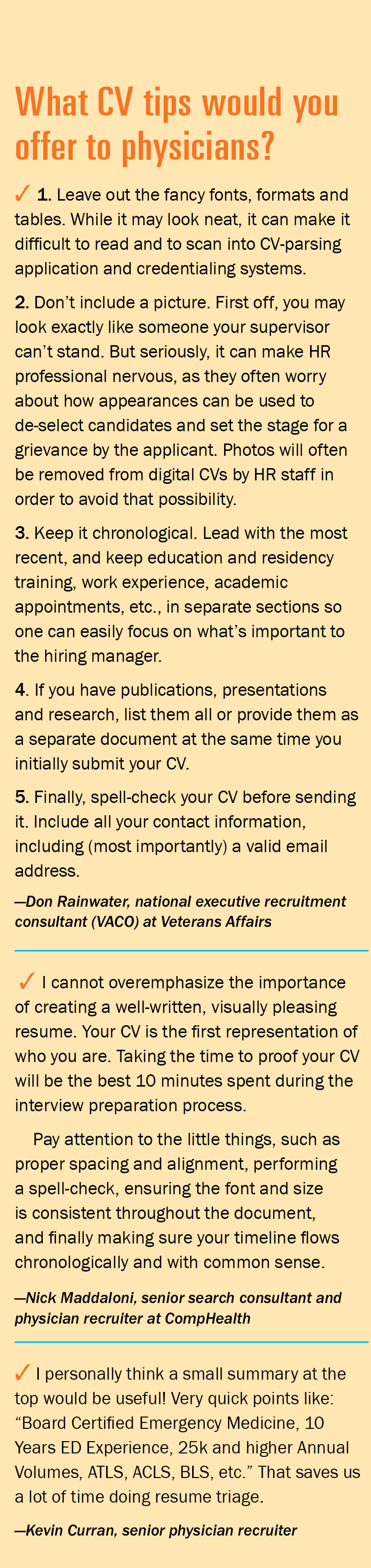cv makeovers suggested areas of improvement cv tips