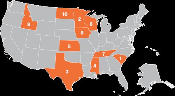 Vital Stats Map