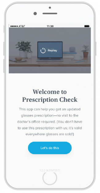 Prescription Check by Warby Parker
