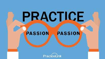 Find your passion and purpose in your practice as a physician.