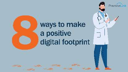 8 ways to make a positive digital footprint
