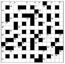 Summer 2014 crossword puzzle