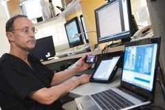 Lowell Satler, M.D., is developer of the CodeHeart app, which compresses the time for cardiac consultations.