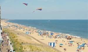A mile-long boardwalk, bandstand and family-friendly fun beckon crowds to Rehoboth Beach.