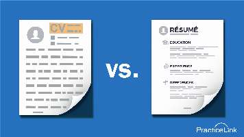 Know the differences between a CV and resume and when to use which one.
