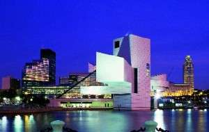The centerpiece of Cleveland's shimmering lakefront is the Rock 'n' Roll Hall of Fame and Museum.