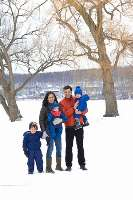 The Bollo family moved to Ithaca from the New York City area—and gained hours back in family time each week that used to be spent commuting. I