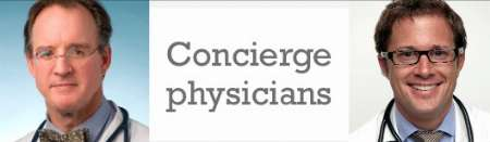 Dirk Frater, M.D., practices concierge medicine in Dallas and Jordan Shlain, M.D., San Francisco.