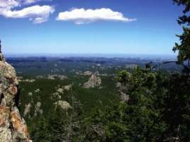 The Black Hills of South Dakota.