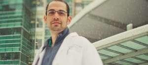 Avishai Meyer, M.D., worked as a locum tenens physician on weekends while a fellow at the University of Nebraska Medical Center.
