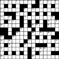 Winter 2013 crossword