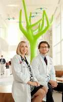 """""""Whether you are seeking a residency position or a job, the couple has to determine who will have a more difficult time finding the position and give that person priority."""" —Michael Griesser, M.D., and his wife, Michelle A. Potts-Griesser, M.D., MPT, at Nationwide Children's Hospital"""