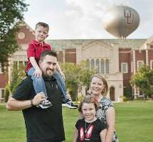 Ted Boehm, M.D., moved to Norman, Okla., after high school—and stayed through undergrad, med school, residency and fellowship. He's now a sports medicine physician raising a family there.