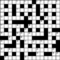 Winter 2013 Crossword Puzzle