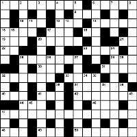 Summer 2013 crossword