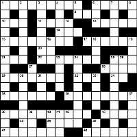 Winter 2014 crossword puzzle key