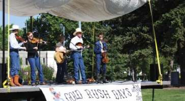 The annual Gold Rush Days celebrates Sidney's role in the rush to the Black Hills goldfields in the late 1800's.