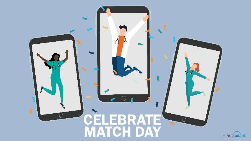 Find creative ways to celebrate Match Day 2021!